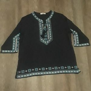 Solitaire 2x Boho Style Tunic Top